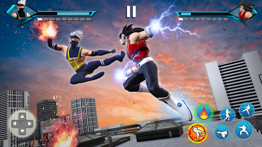 Karate King Fighting Games: Super Kung Fu Fight modiapk screenshots 1