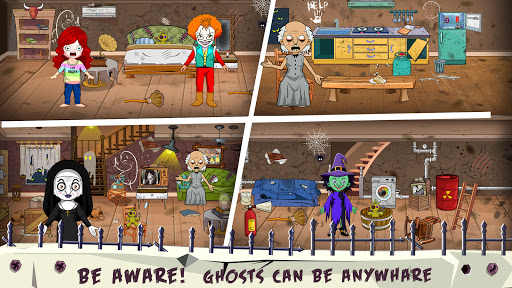 Mini Town: Horror Granny House Scary Game For Kids 2.2 screenshots 3