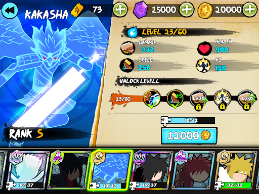 Stickman Ninja Fight - Shinobi Epic Battle 1.7 screenshots 12