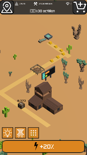 Minr - Gold Idle Incremental Rush Goldmine Tycoon  screenshots 19