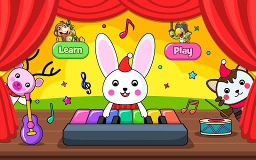 Baby Piano Games & Music for Kids & Toddlers Free 4.0 Screenshots 1
