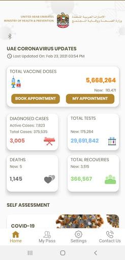 COVID19 UAE 1.6-prd Screenshots 4