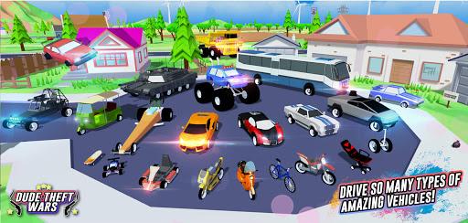 Dude Theft Wars: Open world Sandbox Simulator BETA  screenshots 3