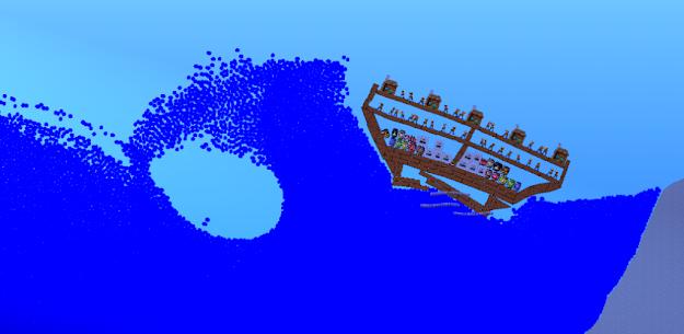 🌊 Water Physics Simulation 🌊 1