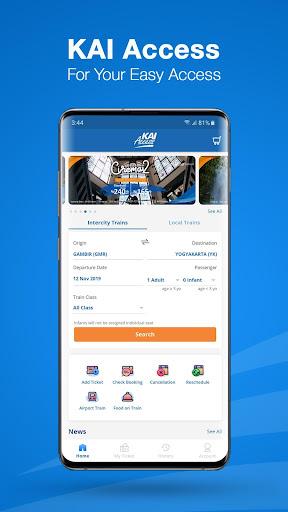 KAI Access: Train Booking, Reschedule, Cancelation apktram screenshots 1