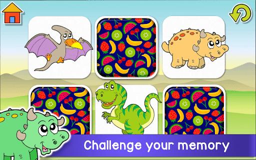 Kids Dino Adventure Game - Free Game for Children screenshots 4