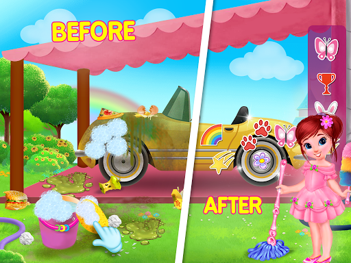 Princess House Cleanup For Girls: Keep Home Clean apkpoly screenshots 12