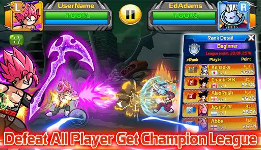 Stickman PvP Online - Dragon Shadow Warriors Fight  screenshots 2