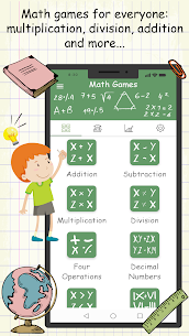 Math Games  Multiplication, Addition and more. Apk Download 3