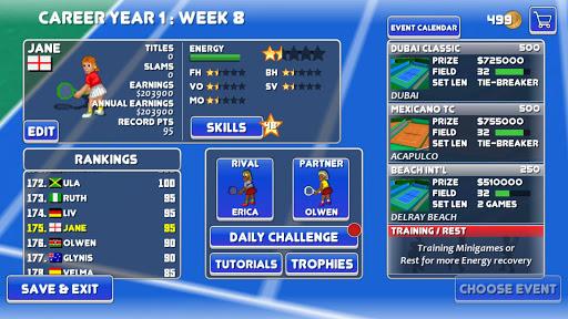 Tennis Champs Returns 4.0.8 screenshots 2