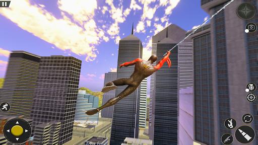 Spider Rope Hero Gangster: Crime City Simulator 3D  screenshots 2
