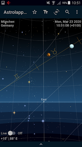 Download APK: Astrolapp Live Planets and Sky Map v5.2.1.4 [Patched]