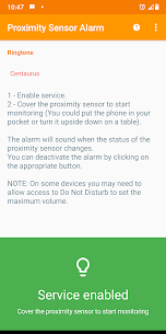 Proximity Sensor Alarm Mod Apk (Anti-Theft) (Premium Unlocked) 2