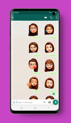 emoji stickers  screenshots 1