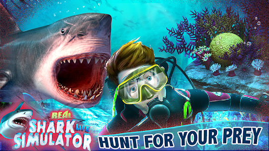 Real Shark Life – Shark Simulator Game Hack Game Android & iOS 1