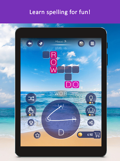 Word Beach: Fun Relaxing Word Search Puzzle Games  screenshots 11