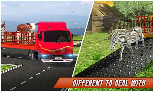 Farm Animal Transport Truck Simulator Driver 2020 2.7 Screenshots 7