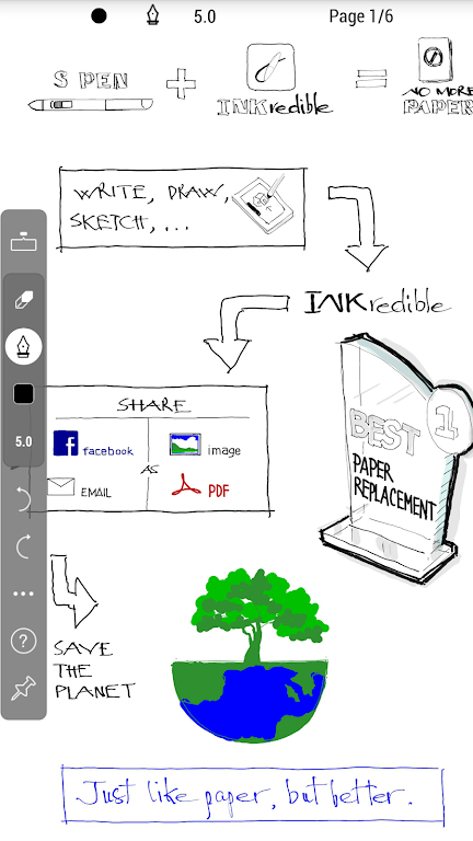 INKredible MOD APK 2.6.2 (Professional Unlocked) - Handwriting Be aware poster 3