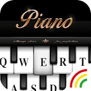 Black&White Piano Keyboard Theme