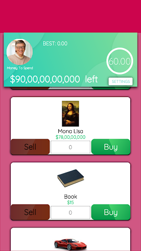 Spend Bill Gates Money apkdebit screenshots 5