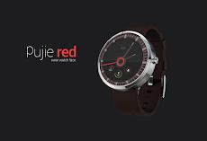 Pujie Red - Wear Watch Faceのおすすめ画像1