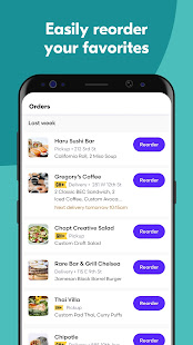 Grubhub: Local Food Delivery & Restaurant Takeout 2021.28 Screenshots 6