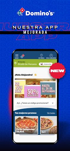 Dominou2019s Pizza Espau00f1a. 4.0.4.5 Screenshots 1