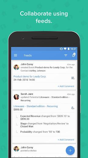 Zoho CRM - Sales & Marketing apktram screenshots 7