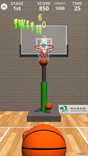 Swish Shot! Basketball Shooting Game screenshots 1
