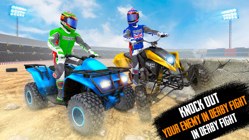 ATV Quad Bike Stunts: 4x4 Offroad Demolition Derby android2mod screenshots 6