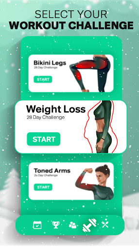 Fitonomy: Weight Loss Workouts at Home & Meal Plan 5.0.6 Screenshots 2