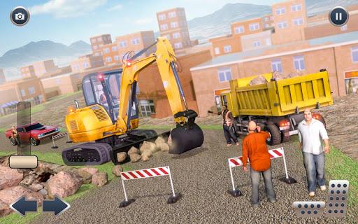 Heavy Crane Excavator Construction Transport screenshots 12