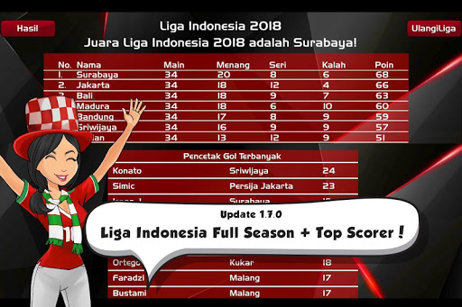Liga Indonesia 2021 u26bdufe0f AFF Cup Football  screenshots 19