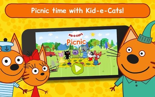 Kid-E-Cats: Picnic with Three Catsu30fbKitty Cat Games  screenshots 10