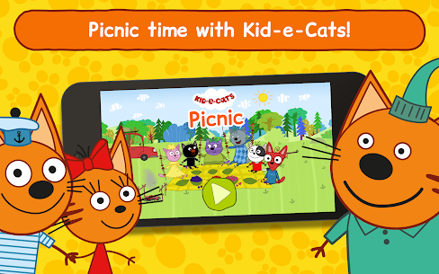 Kid-E-Cats: Picnic with Three Cats・Kitty Cat Games 10