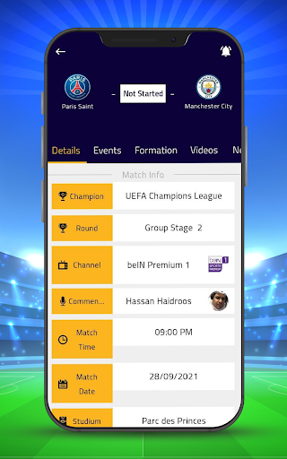 Kora Goal - Sports Live Scores screenshots 2