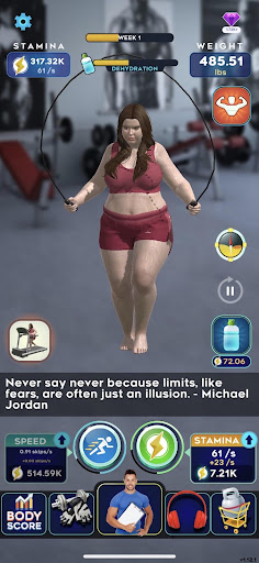 Idle Workout ! modavailable screenshots 4