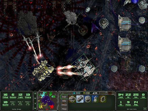 Land Air Sea Warfare RTS  screenshots 16