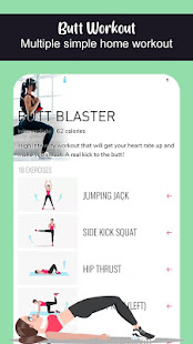 Buttocks 4 weeks Home Workout Challenge