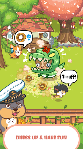 Fancy Dogs - Cute dogs dress up and match 3 puzzle  screenshots 3