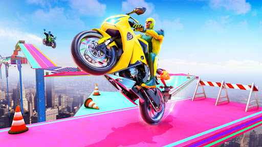 Superhero Bike Stunt GT Racing - Mega Ramp Games 1.17 screenshots 6