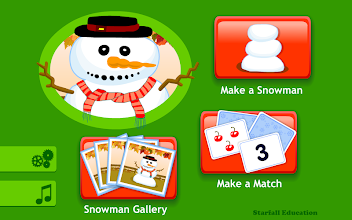 Starfall Snowman screenshot thumbnail