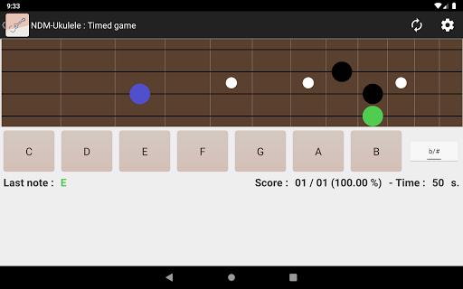 NDM - Ukulele (Learning to read musical notation)  screenshots 7