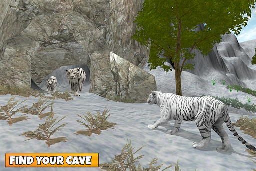 Snow Tiger Family apkmr screenshots 5