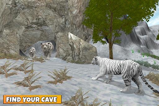 Snow Tiger Family 1.7 screenshots 5