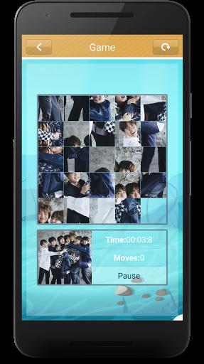 BTS Slide Puzzle Game  screenshots 5
