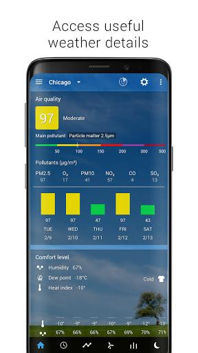 Sense Flip Clock & Weather  Screenshots 2