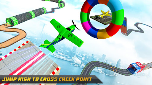 Plane Stunts 3D : Impossible Tracks Stunt Games apkmr screenshots 2