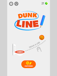 Dunk Line Screenshot