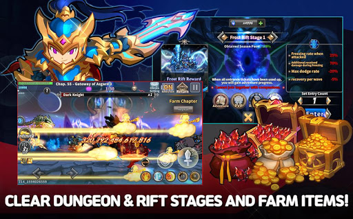 Raid the Dungeon : Idle RPG Heroes AFK or Tap Tap apkmr screenshots 11